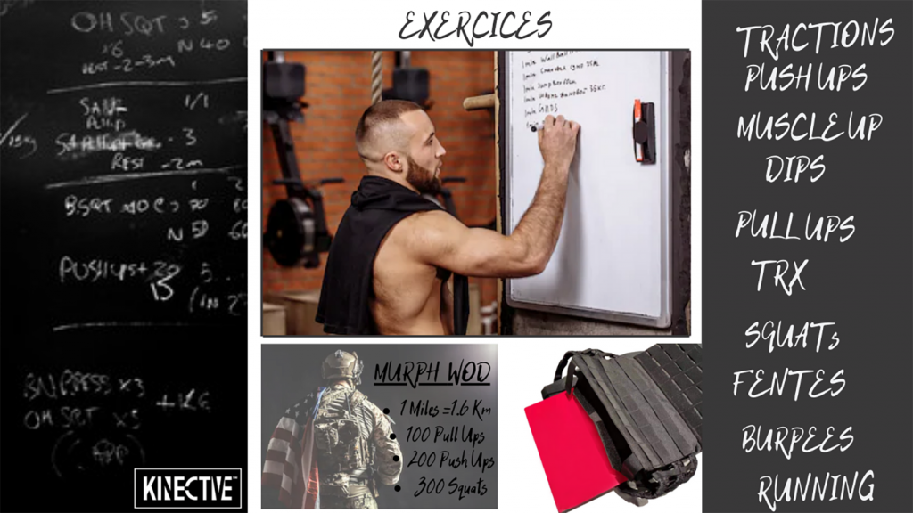 Murph WOD weighted vest poids musculation course à pied
